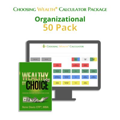 Organizational Choosing Wealth® Calculator Package product