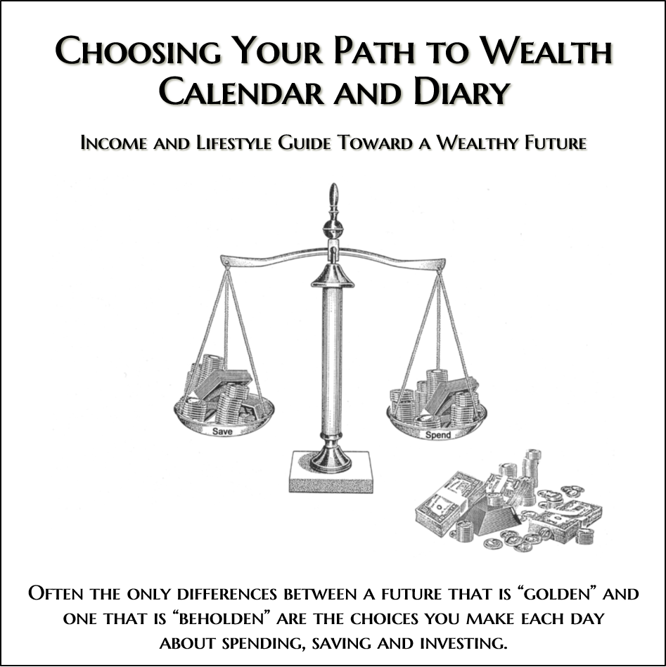 Image of Choosing Your Path to Wealth Calendar and Diary